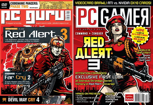 080218 - 『Command & Conquer: RED ALERT 3』情報正式公開,開發中畫面搶先釋出