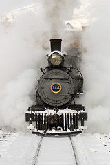 Welcome Back, #346! (Christopher J. May) Tags: railroad train golden colorado explore ppg steamlocomotive crrm coloradorailroadmuseum drgw explored pentaxk100d pentaxfa77mmf18limited premiercollection tenset
