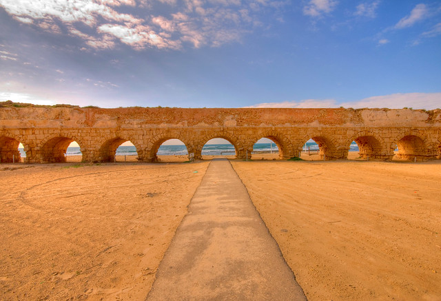 Caesarea Aqueduct, water conservation