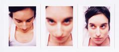 pour finir la pellicule qui attendait patiemment depuis au moins quatre ans... (redjoshuameg) Tags: selfportrait blur triptych scan 365 flou day331 365days olympusmjuzoom105 20080303