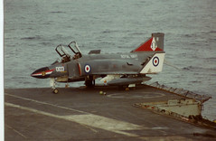 Phantom HMS ARK ROYAL (romft R09) Tags: arm air navy royal 1978 phantom fleet 1977 ark hms royalnavy fleetairarm hmsarkroyal seniorservice hmsarkroyalr09