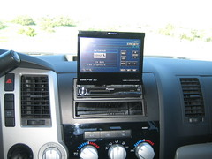 Pioneer touch screen.