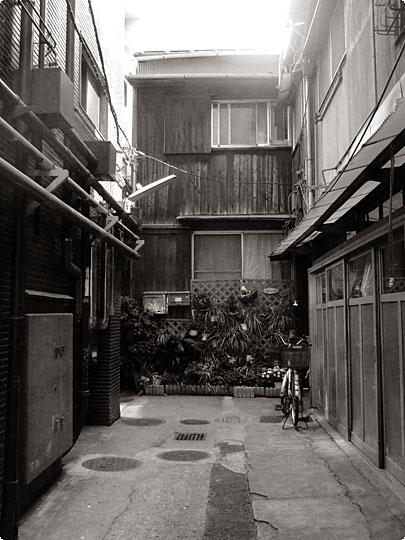 築地市場の裏側