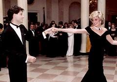 Diana en John Travolta