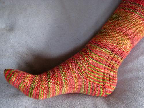 Twisted Sky Sock