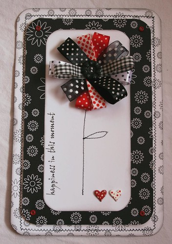 Sewn wedding card front, Wedding Invitations idea, samples, wedding card, sewn design, wedding invitation, flowers, photos