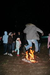 Me Jumping in Chaharshanbe suri - Nancy