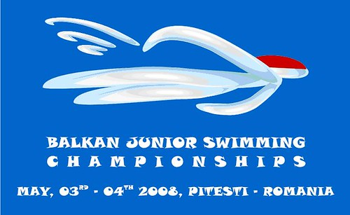balkan junior swimming championship pitesti romania 2008