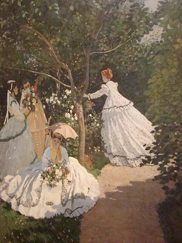Women in the Garden ~ by Claude Monet ~  Museum d'Orsay