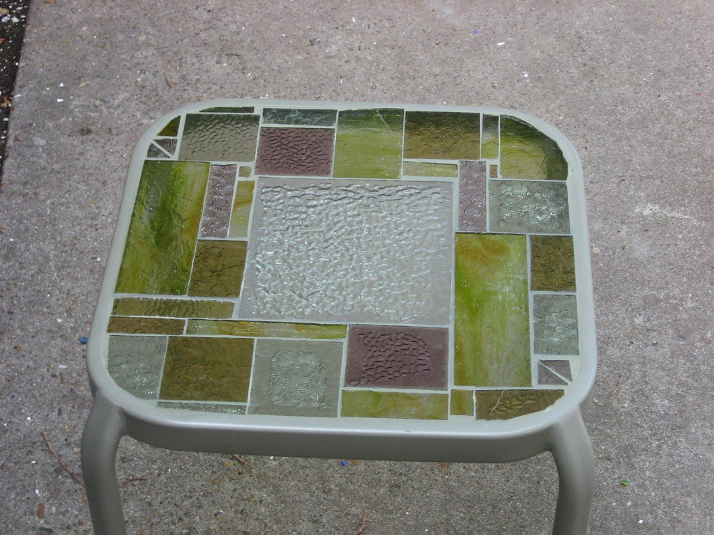 Stained Glass Table #2