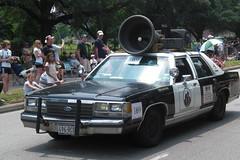 Blues mobile! (patti_rose) Tags: houston artcarparade 2008artcarparade