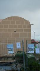 El mausoleo y punto de comienzo del itinerario de blogs de Abla (by jmerelo)