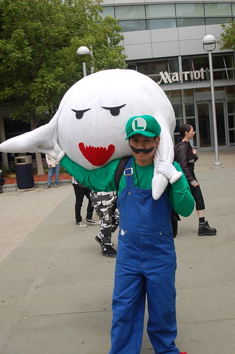 Outside Fanimecon 2008: Luigi