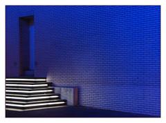 Blue door (Sigrid Klop) Tags: door blue night puerta rotterdam neon blauw nacht deur singintheblues maritiemmuseum aplusphoto top20everlasting top25blue rubyphotographer sigridnetherlandshollandd80nikon