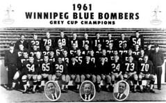 Winnipeg Blue Bombers 1961