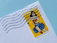 046/365 Wonder Woman (Helen Orozco) Tags: 2017365 postagestamp wonderwoman dianeprince dccomics heroine superheroine goldenage forever usa stamp dianaprince