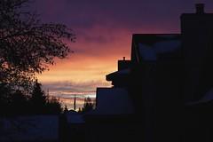 02151325 -Shapes against the Sunrise (geelog) Tags: calgary neighbourhood shapes silhouette sunrise ab canada