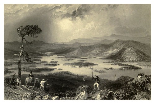 011-El lago Squawm en New Hampshire 1840