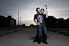 Dirty Dancing? (benchau.com) Tags: lighting sunset beauty nikon dish arm dancing alien boom bee nikkor dslr diffuser cst 18105 avenger superdry d90 cstand sekonic strobist b1600 l358 csrb cybersync benchau vagabond2