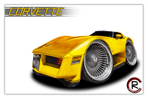 corvette by Roger costa