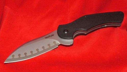 "Kershaw Junkyard Dog II 3-3/4"" Composite Blade and G10 Handles"