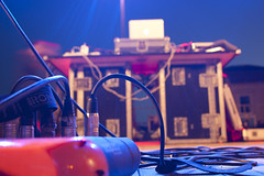 Waitin' for music (James LaFleur) Tags: music stage cables musica palco cavi