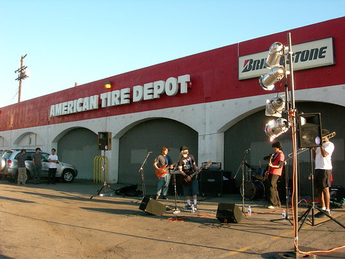 American Tire Depot Stage