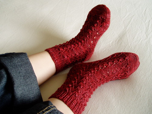 Bluebell Rib Socks