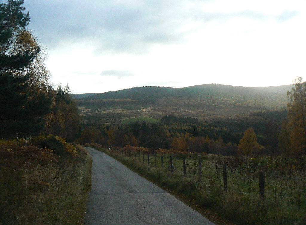 Descent into Glen Tanar