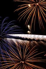 Mirror (Potatojunkie) Tags: fireworks guyfawkes plot gunpowder treason november5th glasgowgreen