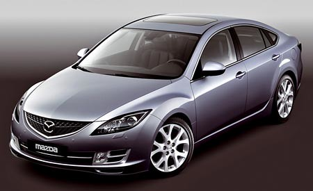 Фото новой Mazda 6