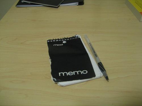 Organized 1: Pocket notebook