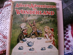 More Alice.... (shebrews) Tags: alice wonderland vintagebook lewiscarrollaliceinwonderland
