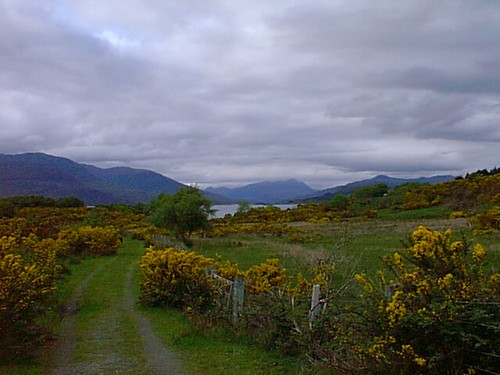 view at plockton B&B