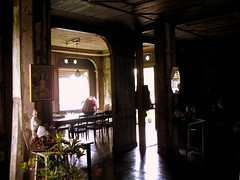 A visit to a vintage house (sweetsexything) Tags: light heritage vintage wooden shiny floor antique oldhouse cebu diningarea carcar ancestralhouse oldfeel noelancestralhome