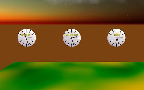 Metaverse's clocks