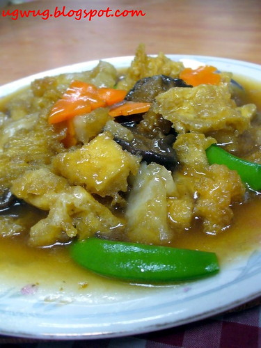 Fish Maw with assorted vegetables
