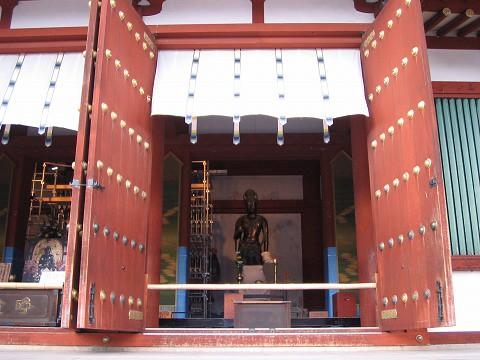 薬師寺-金堂改修中2