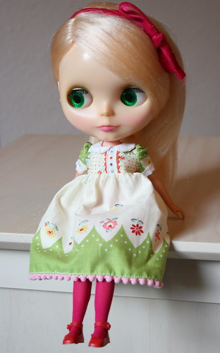 Sunny in XOXO Blythe by lounging linda.
