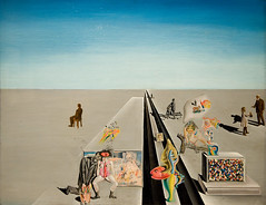"""The First Days of Spring,"" by Salvador Dali (mark6mauno) Tags: county art museum painting losangeles los spring nikon angeles first days salvador nikkor dali lacma d3 ev5 nikond3 2470mmf28g"