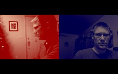 QuartzComposer test: dual cameras