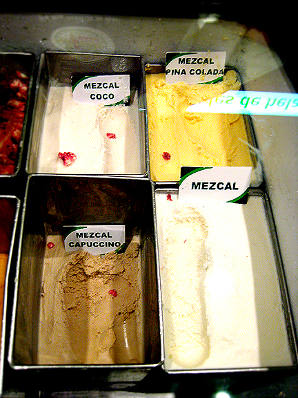 Mezcal Ice Cream
