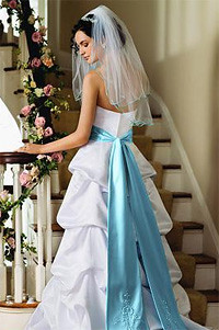 Night Sexy, Blue and Elegant Bridal Gowns