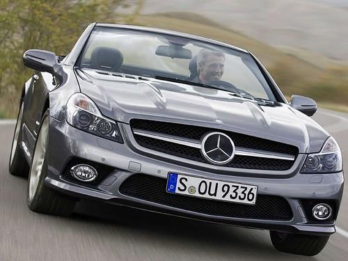 2009 Mercedes Benz SL pictures