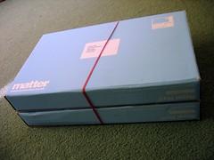 """the """"matter"""" box arrives"""