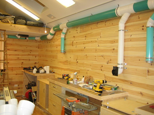 My Green Dust Collection System Spackle Amp Sawdust