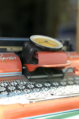 keyless typewriter (carrie_iverson) Tags: signs art notes text printmaking carrieiverson