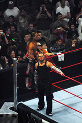 Jeff Hardy showing his disapproval