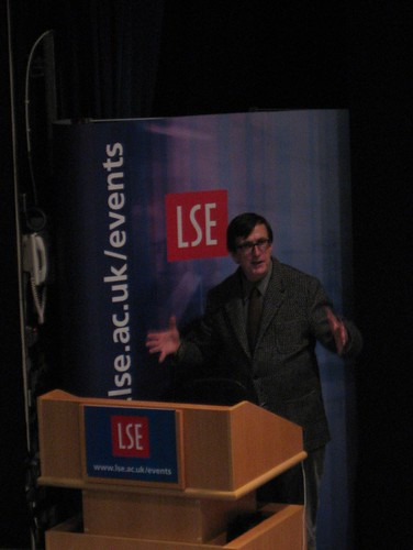 Bruno Latour speaking at the LSE
