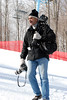 Photographing high school skiing championships. Feb. 2008.